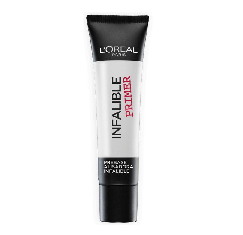 L'Oréal Paris Infalible Primer, PreBase Alisadora de Maquillaje Larga Duración 24H - 35 ml
