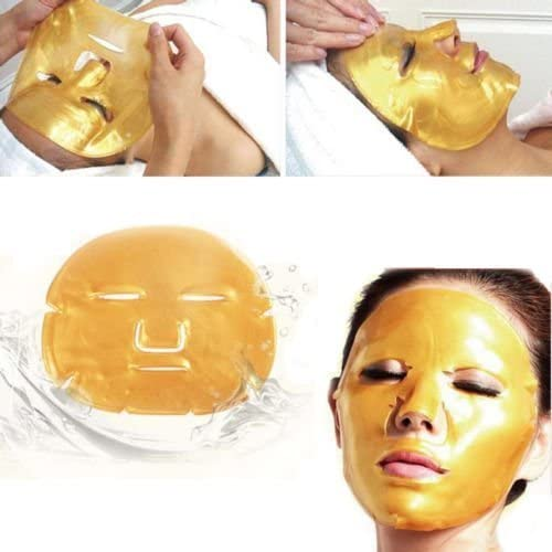 3. Gold Bio – Máscara facial con colágeno