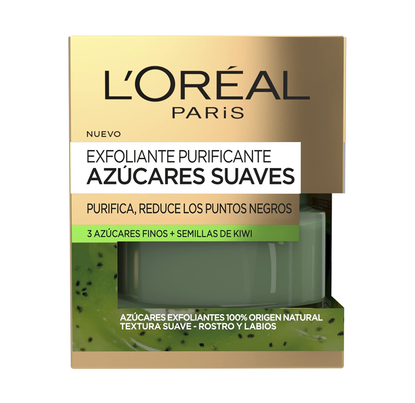 L'Oréal Paris Dermo Expertise Exfoliante Facial Purificante Azúcares Suaves - 50 ml