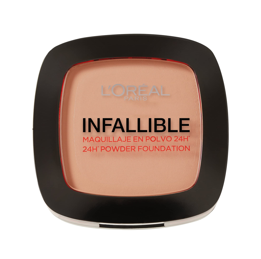 L'Oréal Paris - Infallible 24H, Maquillaje en Polvo Compacto, Tono 225