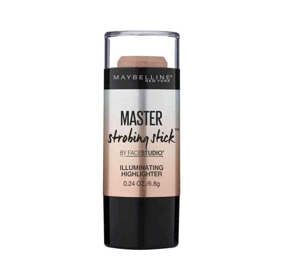 Maybelline New York - Master Strobing Stick Iluminador, Tono 200 Medium pieles medias. - 9GR