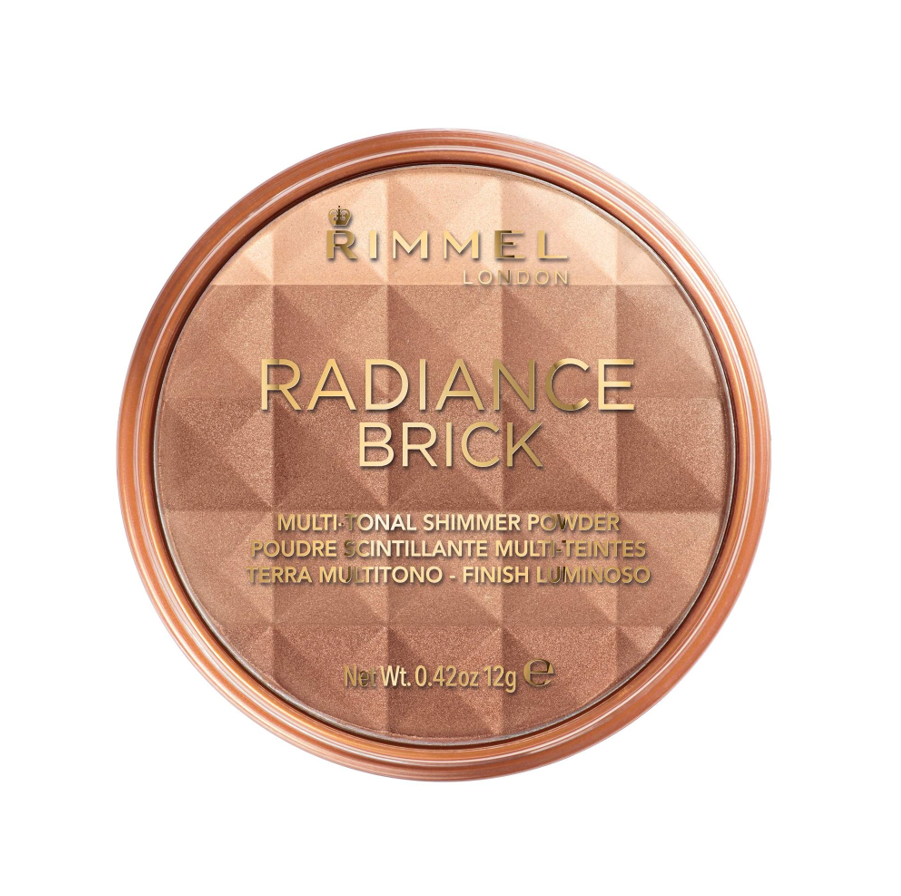 Rimmel Number 001 Radiance Brick - Polvos bronceadores, 12 g