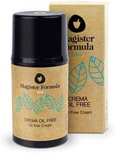 Crema Hidratante Facial Oil Free 50 ml | Especial para Piel Grasa y Sensible | Aporta Efecto Mate | Apta para Pieles Atópicas y con Acné | Día y Noche | Mujer y Hombre | Magister Fórmula