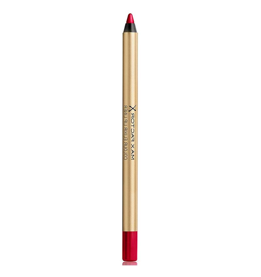Max Factor Colour Elixir Lipliner Perfilador de Labios Tono 12 Red Blush - 5 gr