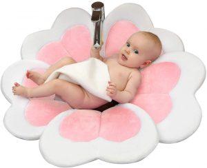 FuliMall Bañera De Flores De Baño Para Bebé Baño De Lavabo Para Bebé Lotus Para Bebés Recién Nacido