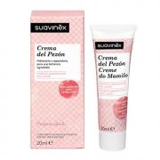 Suavinex - Crema Cuidado Pezón Hidratante y Reparadora Para Pezones Sensibles, 20 ml
